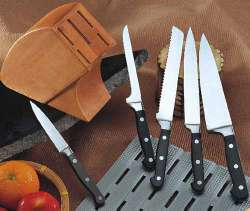 6pc forged knife set - DKC009