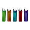 7.7cm/8.0cm disposable/refillable lighter with color head