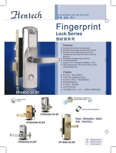 Fingerprint Lock - Hentech