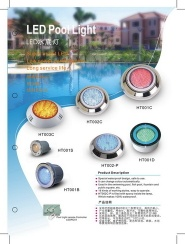 LED pool light - Hentech