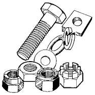 Stainless steel bolts - 960610