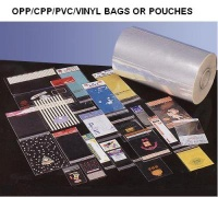 OPP/CPP/PVC bags or pouches - OPP/CPP/PVC bags