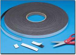 Rubber magnet strip(self-adhesive laminated)
