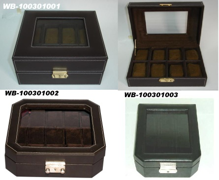 Leather watch boxes - NA-100903001
