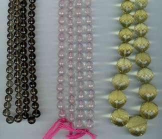 Faceted round beads - 04