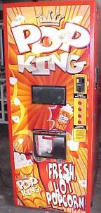 Automatic Microwave popcorn Vending machine