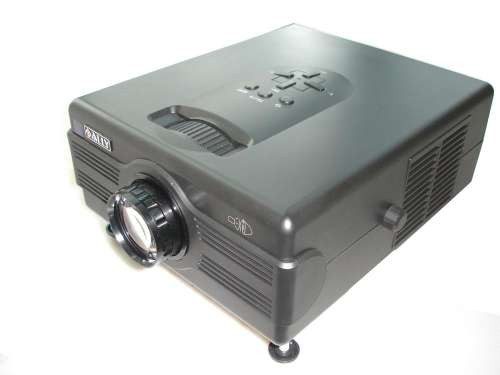 Projector with Zoom, TV, USB, Card Reader, HDMI & Y/Pb/Pr  - PTV01C-1-HD