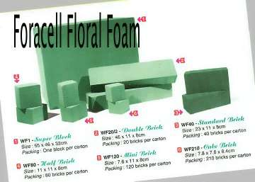 Foracell - floral foam