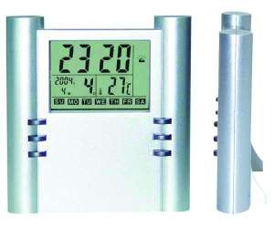 LCD travel alarm clock - S203