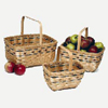 Bamboo Apple Basket Set - VNP-BK123