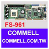 FS-961Full-size PICMG-bus Socket 370 Pentium-III / Celeron CPU Card - FS-961CPU Card