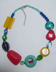 necklace,stone necklace,seed beads necklace - F-NK02922,F-NK02129