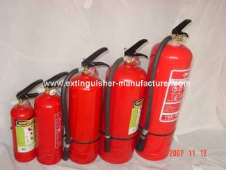 Dry Power Extinguisher - MFZ-1
