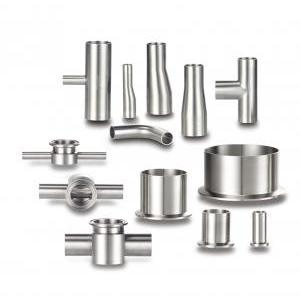 High Vacuum Fittings/ Stainless Steel Orbital(Automatic) Welding Tube Fitting - VACUUM FITTINGS