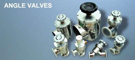 Vacuum Angle Valves/Vacuum Bellows valves/Bellows Sealed Vacuum Valves
