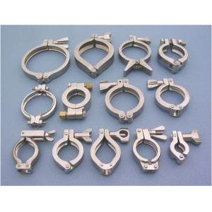 Vacuum Stainless Steel Clamp, KF Hinged Clamp, Bulkhead Clamps - KF VACUUM CLAMP