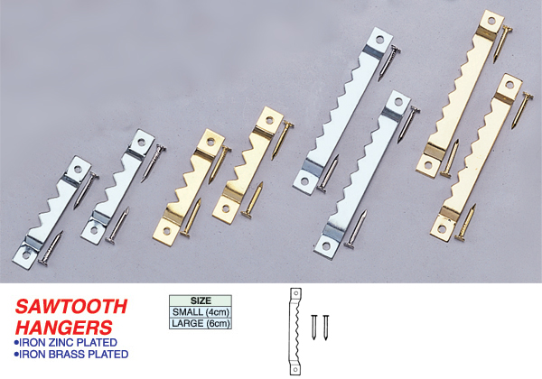 Sawtooth Hangers 05 U Can Do Hardware Corporation