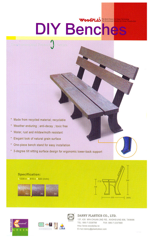 Recycled Outdoor Furniture | Picnic Tables | Plastic Lumber | Benches