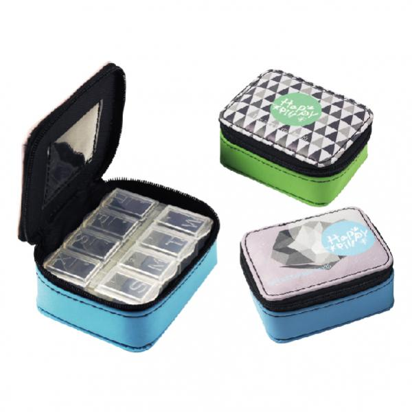 Leather Pill Box - PU-301A