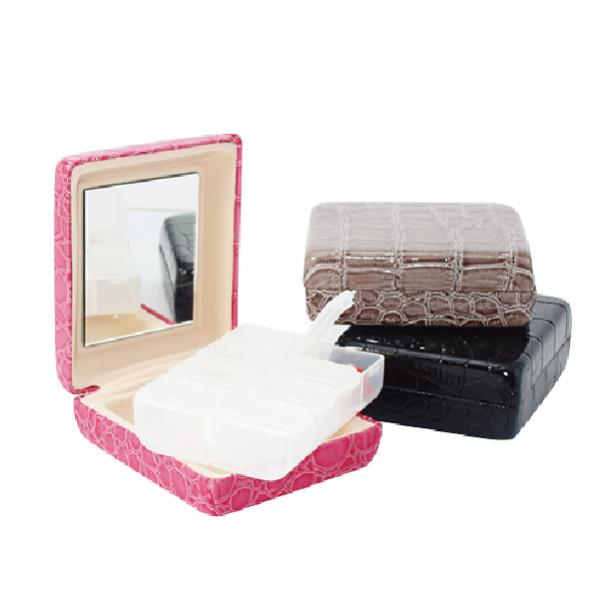 Pill organizer Pill Box & Mini Series & medicine box & Leather pill box - T-301A