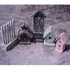 Wooden Bird House - YD016