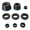 Molded Rubber Parts - Grommet and Stand - 13