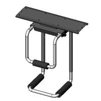 Under Counter CPU Holder - model #60605 series