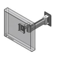 Wall mount LCD extended arm - model #60221 wall mount series