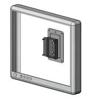 LCD slim wall mount bracket - model #25-13 series