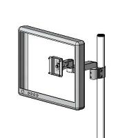 Pole mount LCD extended arm - model #60221P series