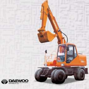 DAEWOO Wheel Type Excavator - WE