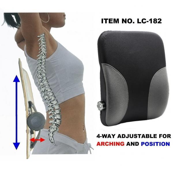 4-WAY ADJUSTABLE LUMBAR CUSHION!!salesprice