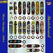 Newe Skateboard Designs 2004