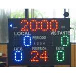Medium size multi-sport scorer & timer - MTS-500