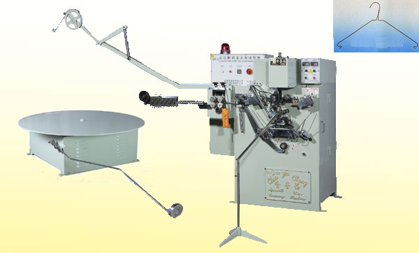 Wire Hanger - Automatic Wire / Paper Tube Hanger Making Machine (Strut Hanger)