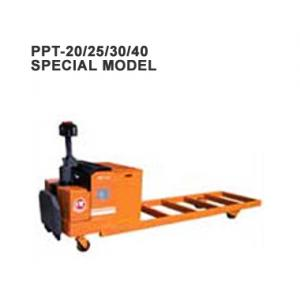 Electric Pallet Truck (Load: 2Tons / 2.5Tons / 3Tons t / 4 Tons ) PPT-20/25/30/40 Special Model - PPT-18/20/25/30/40