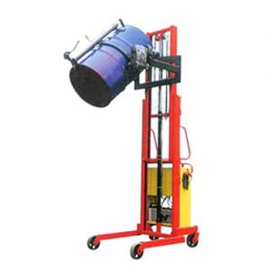 Powered Lifting Standard Oil Tank Stacker(Load:300 kg)POTR-03/2400 - POTR-03/2400