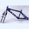 20 BMX Frame Built of AL-7005 Tubings - TB-205